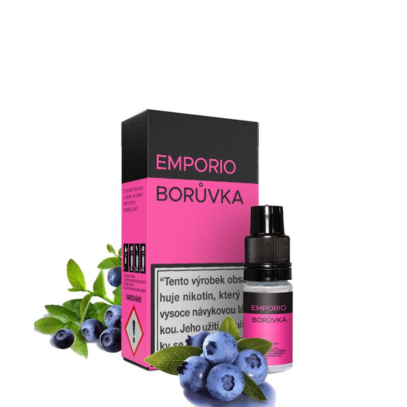 BORŮVKA - e-liquid EMPORIO 10 ml Imperia