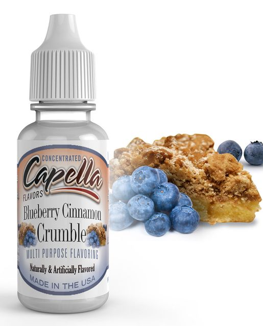 BORŮVKOVÝ KOLÁČ / Blueberry Cinnamon Crumble - Aroma Capella