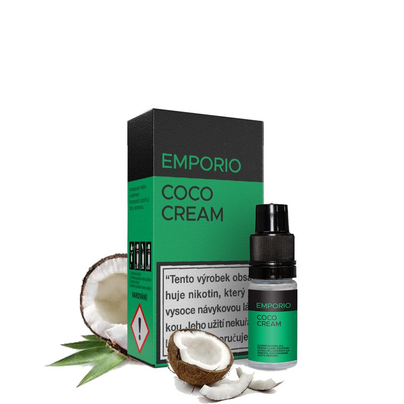 COCO CREAM - e-liquid EMPORIO 10 ml Imperia