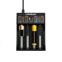 LiitoKala Lii-402 inteligentní nabiječka, 4 sloty