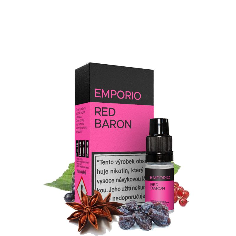 RED BARON - e-liquid EMPORIO 10 ml Imperia