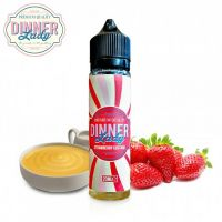 STRAWBERRY CUSTARD - Jahodový krém - shake&vape Dinner Lady 20 ml