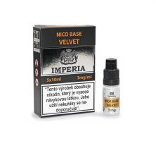 Velvet Base Imperia 3 mg - 5x10ml (20PG/80VG)
