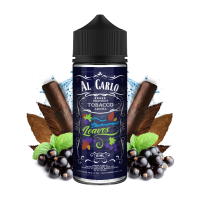 BLACKCURRANT LEAVES / Černý rybíz & tabák - shake&vape AL CARLO 15 ml