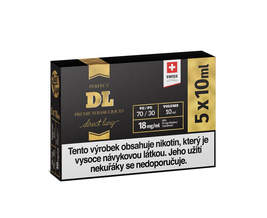 JustVape DL BOOSTER 18mg - 5x10ml (70VG/30PG)