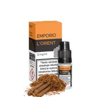 L'ORIENT (Orientální tabák) - E-liquid Emporio Salt 10ml