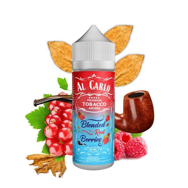 BLENDED RED BERRIES / Maliny, rybíz & tabák - shake&vape AL CARLO 15 ml