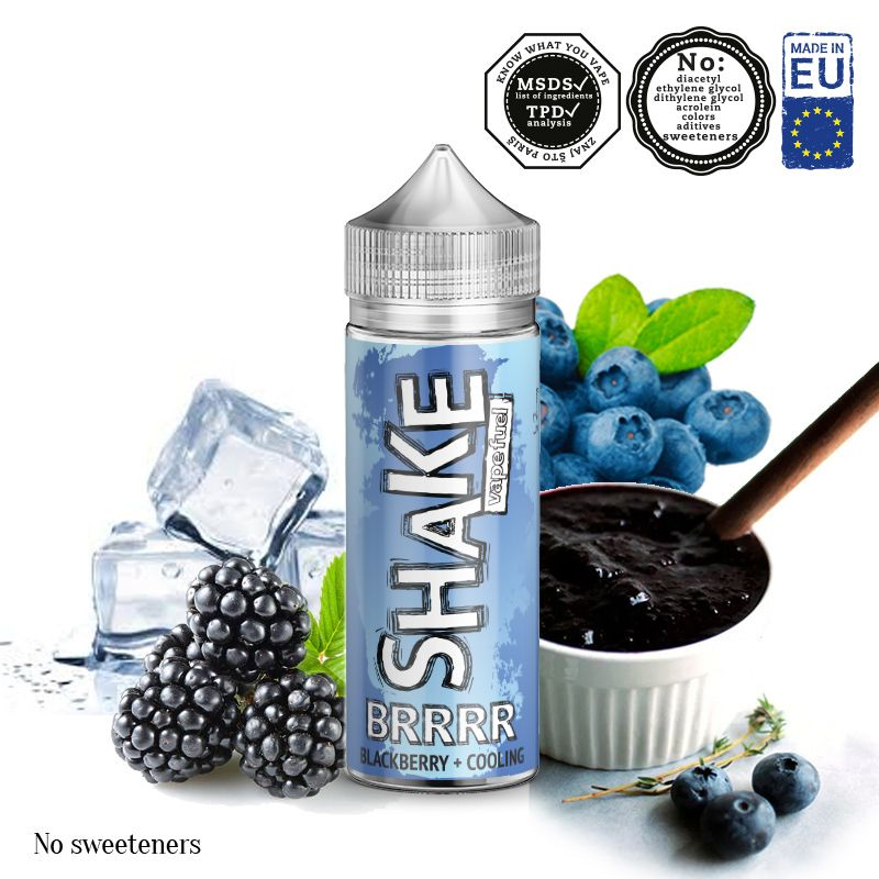BRRRR / borůvky, ostružiny, koolada - shake&vape AEON 24ml
