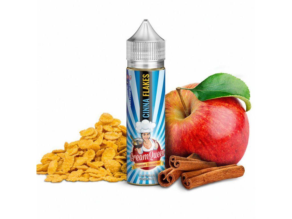 CINNA FLAKES (Cereálie se skořicí a jablkem) - PJ Empire - shake&vape Cream Queen 12ml