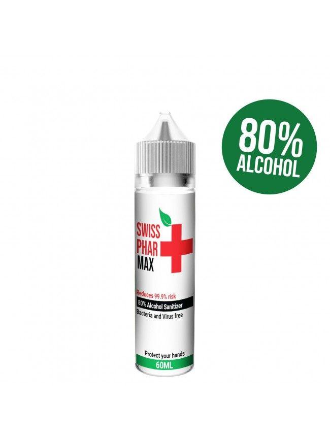 HAND SANITIZER SWISS PHARMAX- Antibakteriální roztok 60 ml