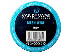 MESH Vandy Vape - Ni80 100, 1,5m
