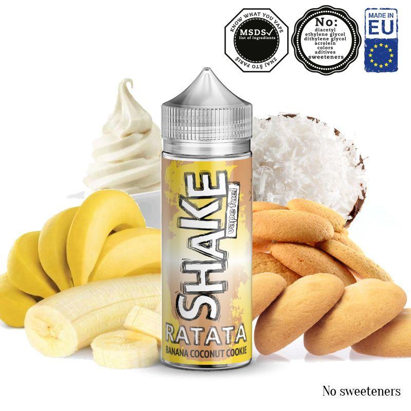 RATATA / banán, sušenky, kokos - shake&vape AEON 24ml