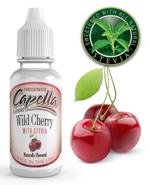 VIŠNĚ SE STÉVIÍ / Cherry Wild with Stevia - Aroma Capella 13ml