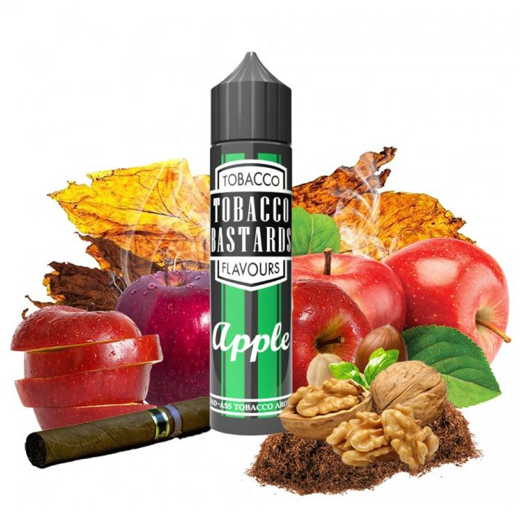 APPLE TOBACCO - shake&vape Flavormonks 12 ml