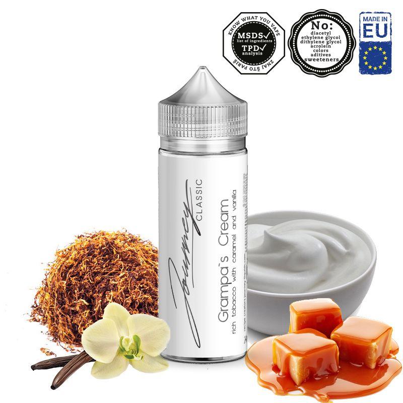 GRAMPAS CREAM / RY4 tabák, karamel, vanilka - shake&vape AEON 24ml