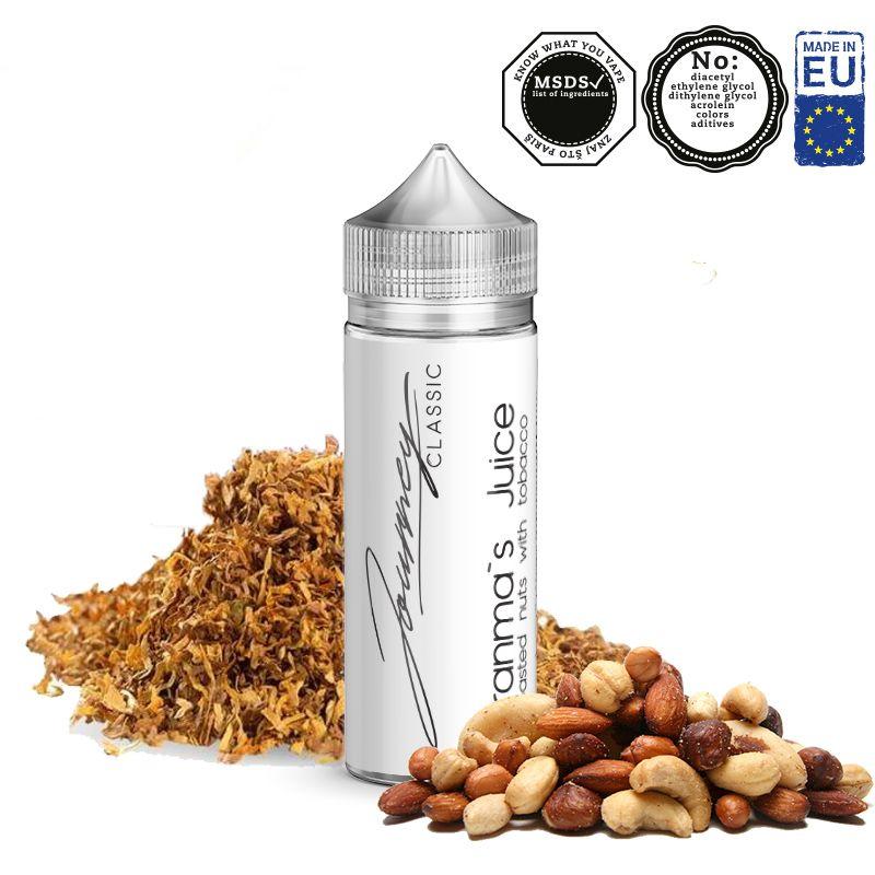 GRANMAS JUICE / oříšky s aromatickým tabákem - shake&vape AEON 24ml