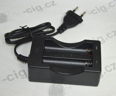 Dvoukanálová nabíječka pro baterie 18650 Green Sound