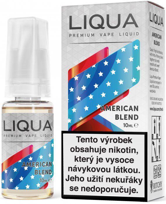 AMERICKÝ TABÁK / American Blend - LIQUA - Elements 10 ml