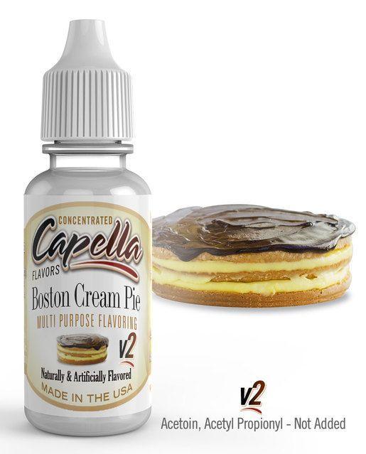 BOSTONSKÝ KRÉMOVÝ KOLÁČ / Boston Cream Pie V2 - Aroma Capella