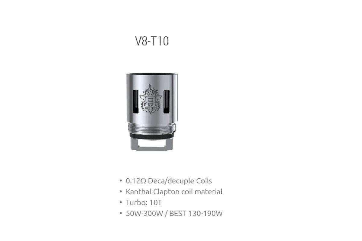 Žhavící hlava V8-T10 pro Smok TFV8 Cloud Beast Tank - 0,12 ohm