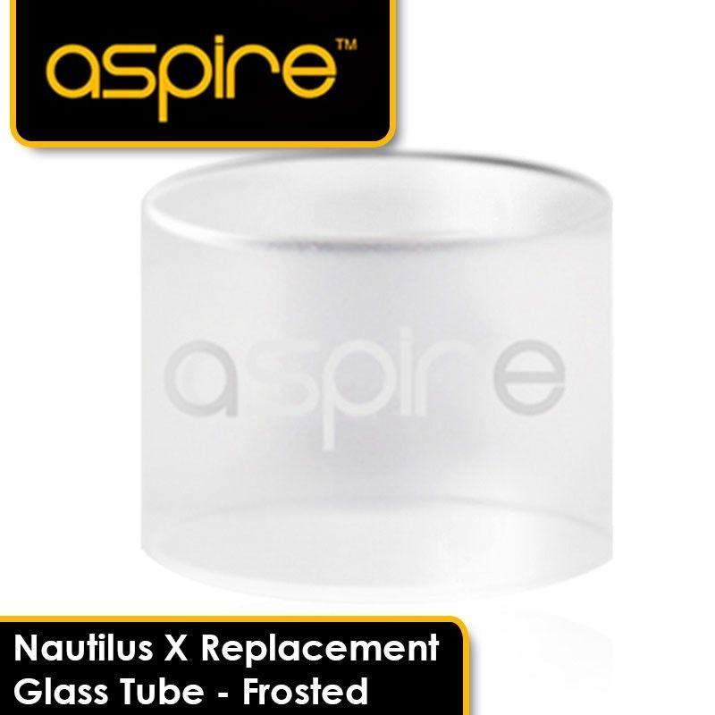 Náhradní skleněné tělo Aspire NAUTILUS X - matné