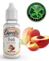 BROSKEV SE STÉVIÍ/ Peach with Stevia - Aroma Capella 13 ml