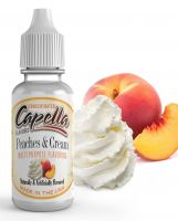 Broskve se šlehačkou / Peaches and Cream - Aroma Capella 13ml