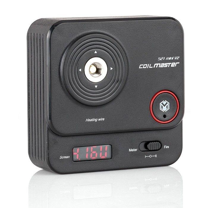 Coil Master 521 TAB Mini V2 ohmmetr