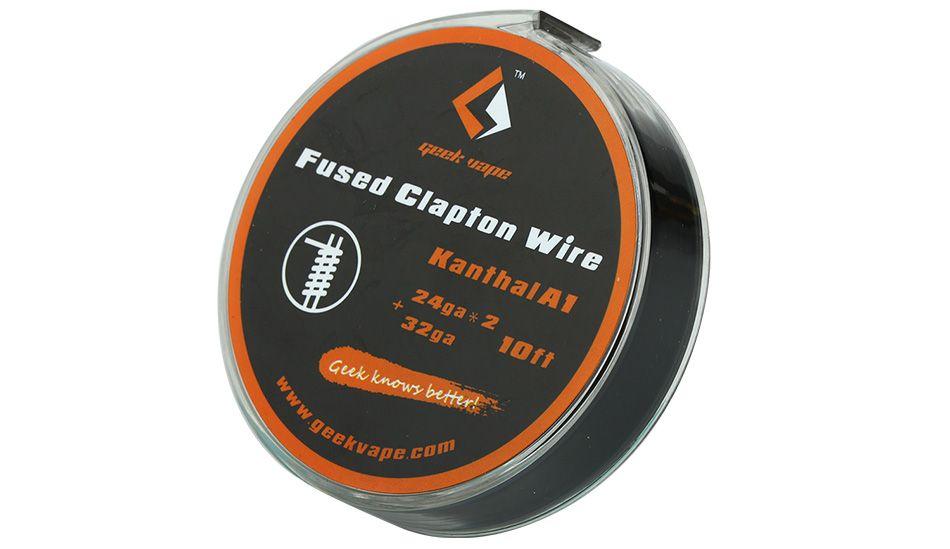 GeekVape FUSED CLAPTON odporový drát Kanthal A1 24GAx2+32GA, 3m