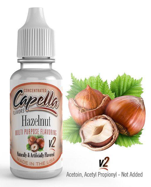 LÍSKOVÝ OŘÍŠEK / Hazelnut V2 - Aroma Capella