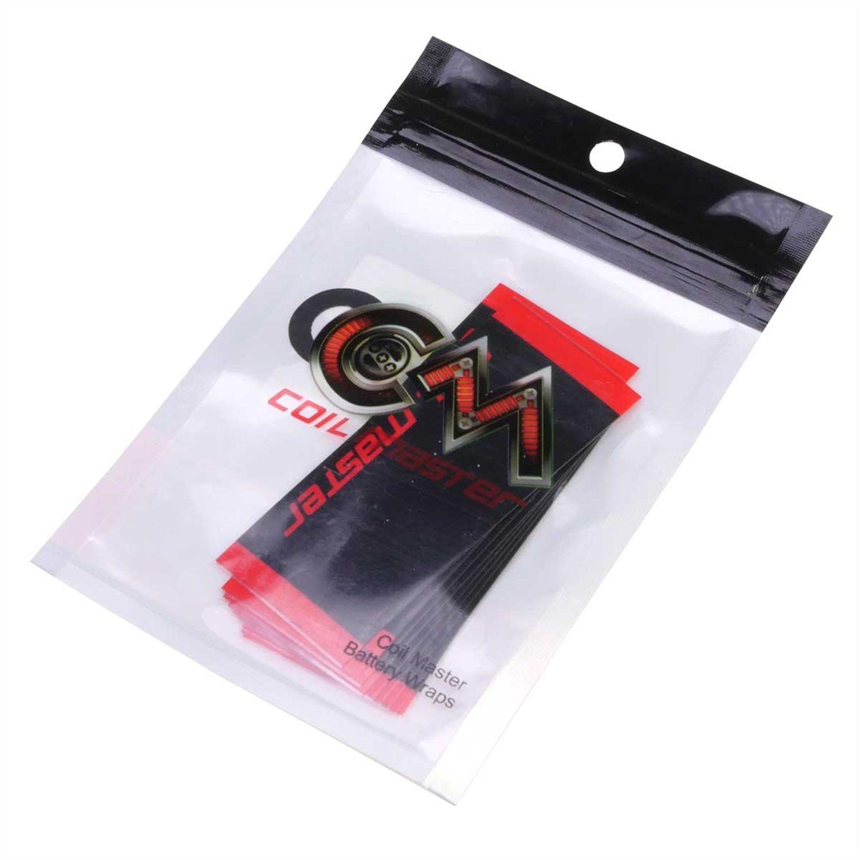 Smršťovací folie na baterie 18650 Coil Master - 10 ks