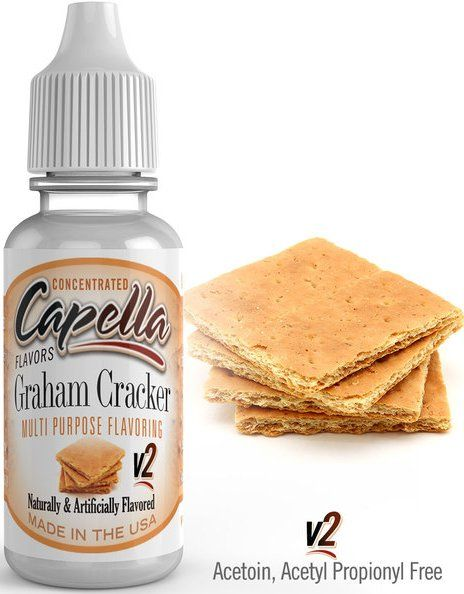 GRAHAMOVÁ SUŠENKA / Graham Cracker V2 - Aroma Capella