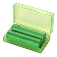 Pouzdro na baterie 2x18650 - plast Green Sound